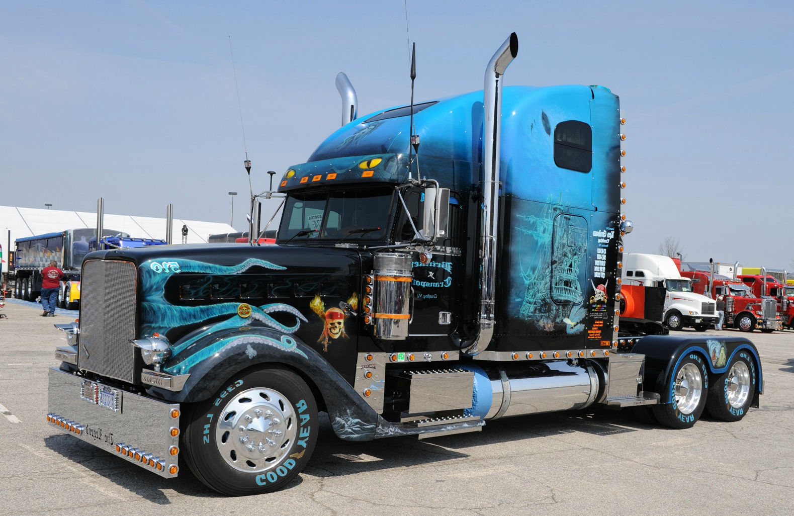 Американские грузовики фредлайнер картинки